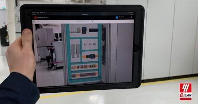 """Digitální rozvaděč """"přímo na stole"""":EPLAN eVIEW Free nyní s AR funkcemi"""
