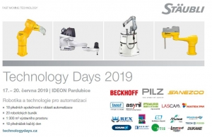 Stäubli Technology Days 2019: Roboty pro odborníky i veřejnost