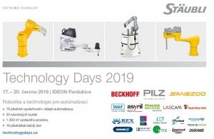 Stäubli Technology Days 2019: Roboty pro odborníky i veřejnost