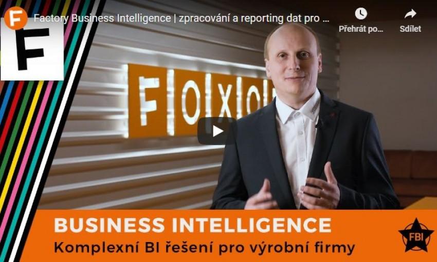 Factory Business Intelligence - přeměňte data na užitečné informace