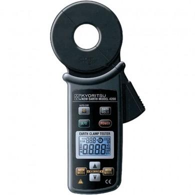 Měření uzemnění bez rozpojení přístrojem KEW 4200