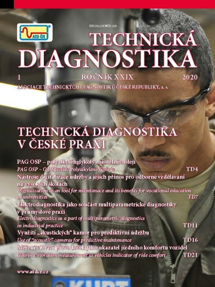 Technická diagnostika, 1/2020