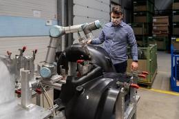 Alseca Engineering využívá kolaborativního robota pro ultrazvukové svařování a frézovací aplikace