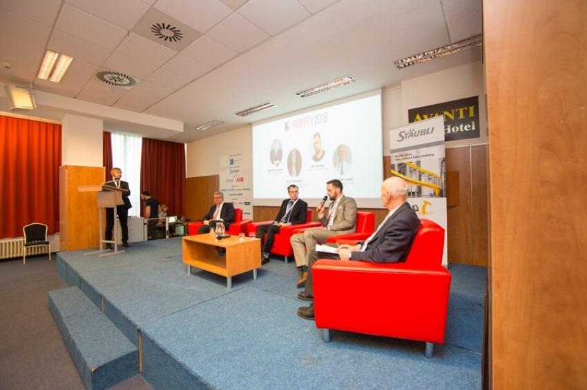 Roboty v době Průmyslu 4.0: Diskusní panel