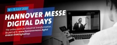 HANNOVER MESSE Digital Days (14. a 15. července)