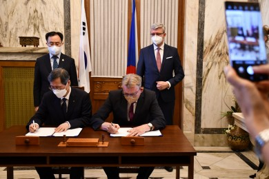 Aliance české energetiky a jihokorejská KHNP podepsali memorandum voblasti jaderné energetiky