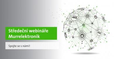 Středeční webináře Murrelektronik