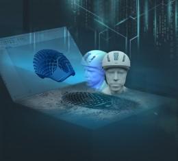 Řešení Siemens umožňují masovou výrobu cyklistických přileb na míru
