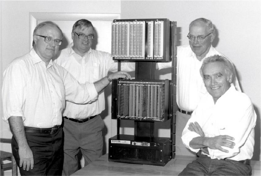 První programovatelný automat představen před 50 lety