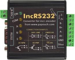 Převodníky INCRS pro připojení inkrementálního snímače