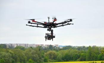 Inspekce prvků soustavy zásobování teplem pomocí letecké termografie