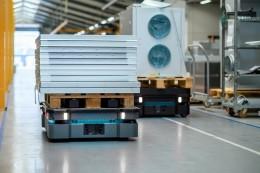 MiR představil výkonné autonomní mobilní roboty pro optimalizaci veškeré logistiky