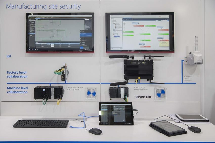 Vylepšení zabezpečení IoT ve výrobních závodech