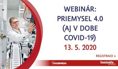 WEBINAR: Priemysel 4.0 (aj v dobe Covid-19)