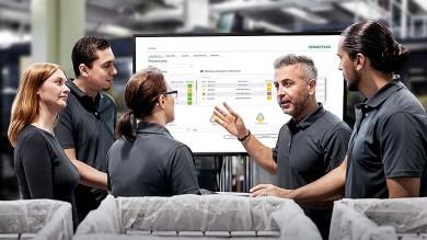 OPTIME společnosti Schaeffler nabízí automatizované auživatelsky přívětivé sledování stavu