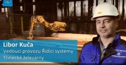 Třinecké železárny uplatňují robot při výrobě oceli