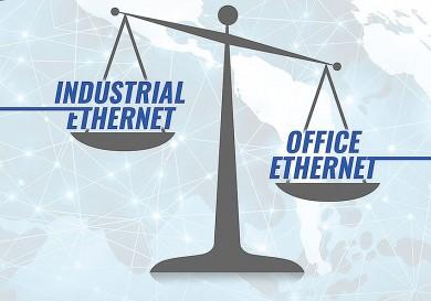 Rozdíl mezi průmyslovým a kancelářským Ethernetem