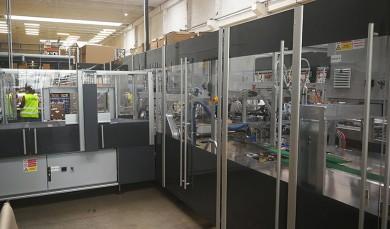 CartonWrap – automatizace balení zásilek vdistribučním skladu Euromedia Group