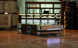 Společnost OMRON představuje mobilního robota HD-1500 s nosností 1 500 kg