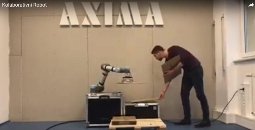 Robot a chapadlo - selhání nepřipadá v úvahu