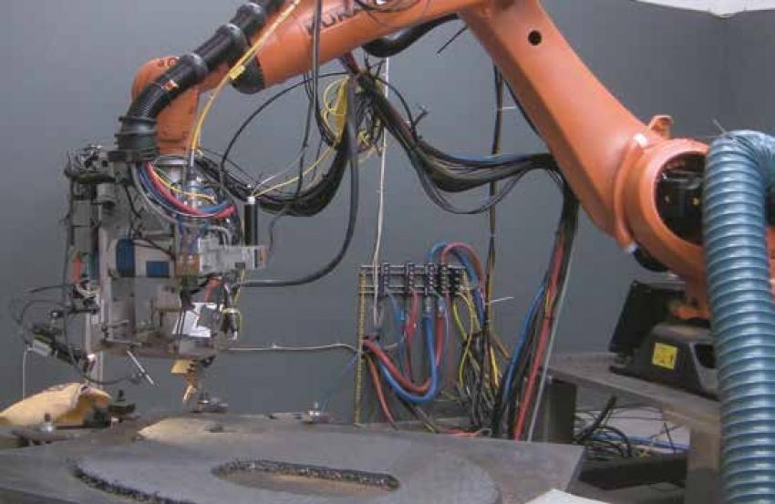Stavění budoucnosti s robotickou aditivní výrobou