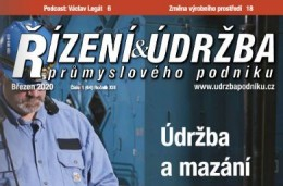 Řízení a údržba průmyslového podniku, 1/2020