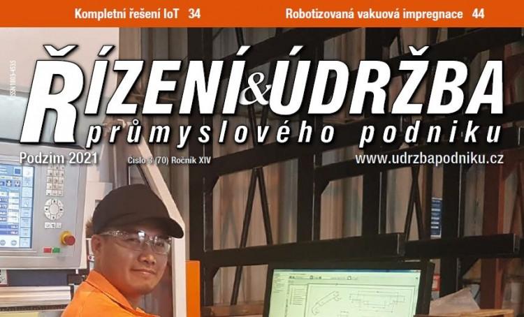 Řízení a údržba průmyslového podniku, 3/2021