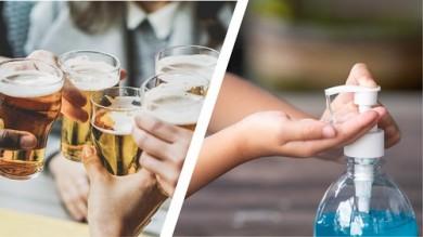 Od piva k dezinfekci na ruce – přizpůsobení výroby v důsledku COVID-19